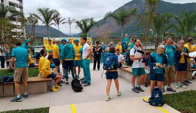A equipe australiana vem enfrentando problemas na Vila dos Atletas - Foto: AUS Olympic Team/Twitter