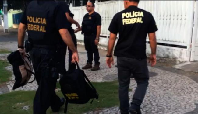 Foram cumpridos mandados em três localidades de Salvador e no interior da Bahia - Foto: Divulgação   PF
