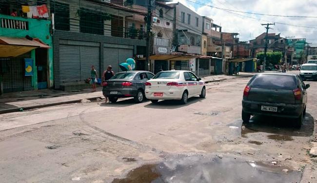 Bairros da Santa Mônica (foto) e do Pero Vaz continuam sem ônibus nesta manhã, segundo rodoviários - Foto: Cidadão Repórter | Via WhatsAPP