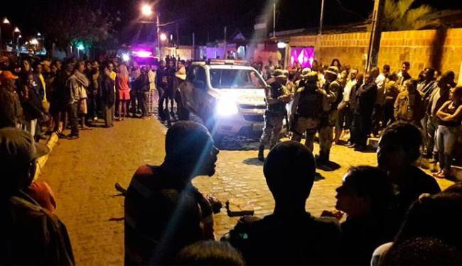 População tirou homem da delegacia e linchou - Foto: João Paulo Barbosa | Site Augusto Urgente | Divulgação