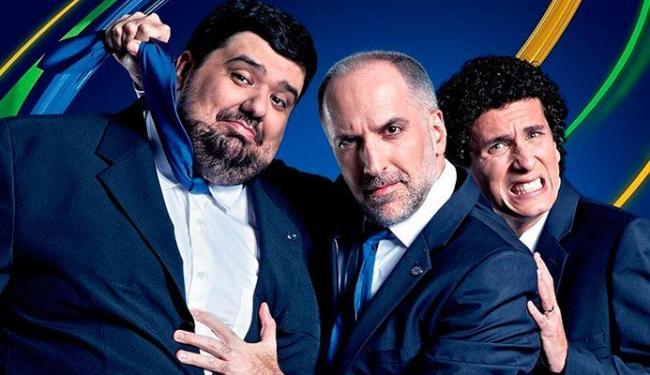 Totoro, Tabet e Rafael vão fazer participações na Fox Sports - Foto: Divulgação