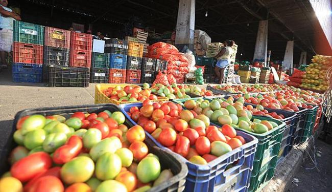 Preço do tomate diminuiu em Salvador em junho - Foto: Joá Souza l Ag. A TARDE