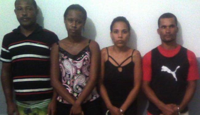 Ao todo seis pessoas foram presas - Foto: Divulgação   SSP BA
