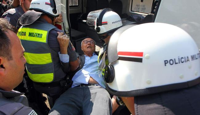 Suplicy foi acusado de obediência e desobstrução da Justiça - Foto: Sérgio Castro | Estadão Conteúdo