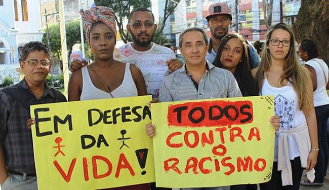 Grupo seguiu em passeata até o Estacionamento São Raimundo, onde fica a Coordenadoria de Táxi - Foto: Divulgação