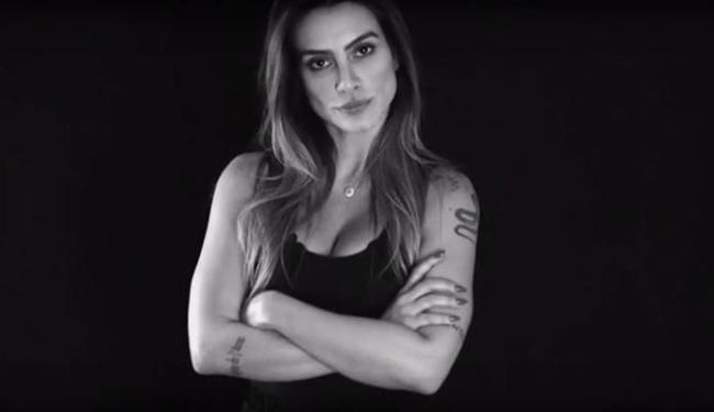 Cleo Pires lançou a campanha na Marie Claire - Foto: Reprodução