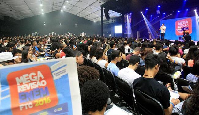 Segunda edição de aulão para candidatos ao Enem teve parceria do Grupo A TARDE - Foto: Adilton Venegeroles l Ag. A TARDE