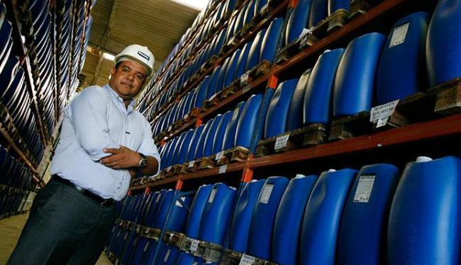Ricardo Dias, gerente comercial da Indeba, planeja vender para países vizinhos - Foto: Mila Cordeiro   Ag. A TARDE