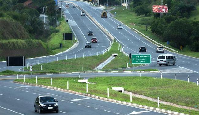 Rodovia BA-093 é administrada pela Concessionária Bahia Norte - Foto: Divulgação l Concessionária Bahia Norte