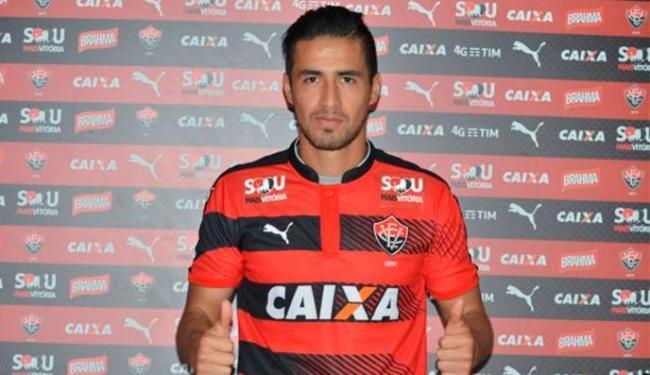Ramallo firmou contrato com o Leão até junho de 2017 - Foto: Divulgação | E.C.Vitória