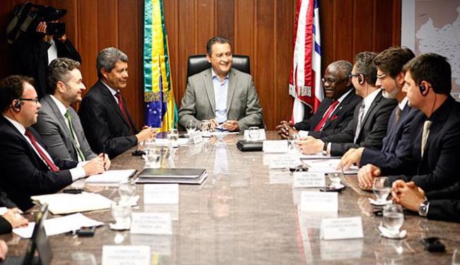 A declaração foi feita pelo governador nesta quinta-feira, 21, em reunião com a presidência do FIDA - Foto: Mateus Pereira l Gov-BA