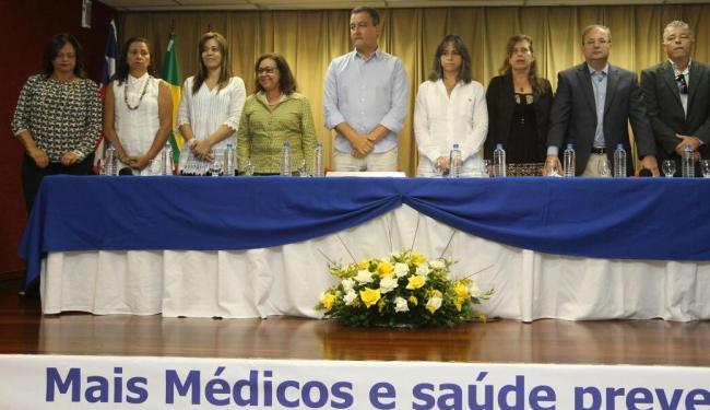 Governador Rui Costa participou de homenagem aos três anos do programa Mais Médico na Bahia - Foto: | Ag. A TARDE