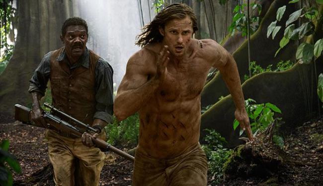 O sueco Alexander Skarsgård interpreta Tarzan - Foto: Divulgação