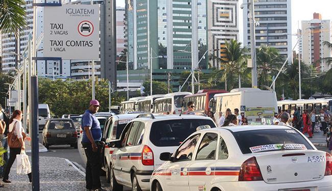Do valor da corrida, 80% ficam com o motorista - Foto: Lucio Távora   Ag. A TARDE