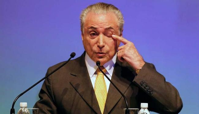 Temer pediu aos ministros da área econômica um número fechado para a meta - Foto: Nacho Doce | Agência Reuters