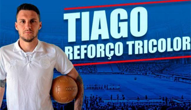 O atleta de 26 anos chega emprestado até dezembro - Foto: Divulgação | E.C.Bahia