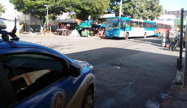 Policiamento foi reforçado em Cosme de Farias - Foto: Edilson Lima | Ag. A TARDE