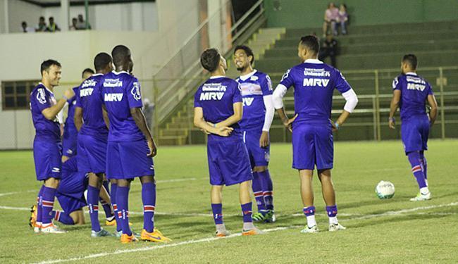 Equipe treina à noite para não desgastar os atletas - Foto: EC Bahia l Divulgação