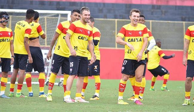 Rubro-negro está invicto há quatro rodadas no Brasileirão - Foto: Francisco Galvão l EC Vitória