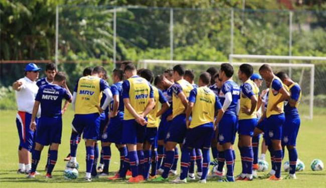 Treinador do Esquadrão diz que trabalho passa por uma vitória sobre o Sampaio Corrêa - Foto: Felipe Oliveira l EC Bahia