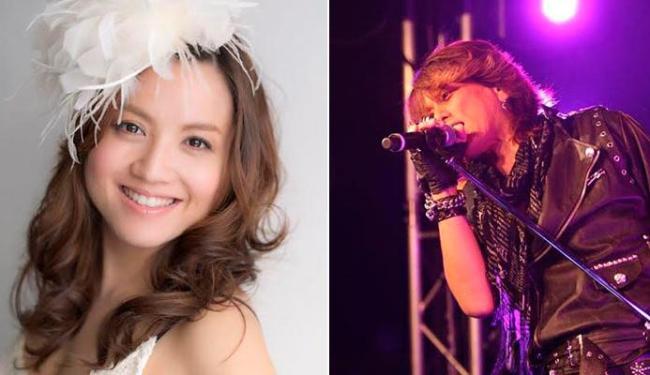 Yumi Matsuzawa e Nobuo Yamada, intérpretes das músicas de Cavaleiros do Zodiáco, estarão no evento - Foto: Divulgação