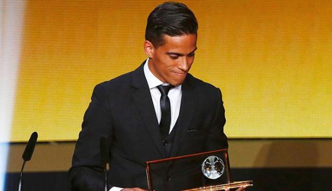 Wendell ficou conhecido mundialmente após ter seu gol escolhido entre os 10 melhores do ano de 2015 - Foto: Arnd Wiegmann   Ag.Reuters