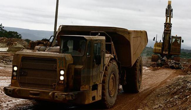 Grupo canadense vai investir US$ 84,2 milhões na exploração do minério no município de Santaluz - Foto: Lúcio Távora   Ag. A TARDE l 30.06.2010