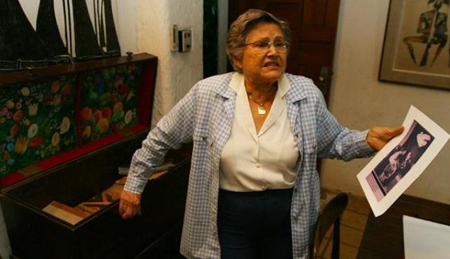 Zélia Gattai viveu por cerca de quatro décadas na casa que hoje é um memorial a ela e ao marido, Jor - Foto: Edmar Melo| Ag. A TARDE | 01.08.2003