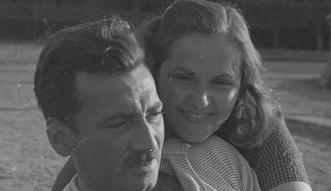 Jorge e Zélia na Tchecoslováquia em 1951 - Foto: Acervo Zélia Gattai   Fundação Casa de Jorge Amado