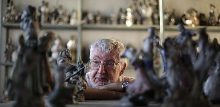 Reinaldo Eckenberger veio para Bahia para conhecer arte barroca - Foto: Raul Spinassé | Ag. A TARDE