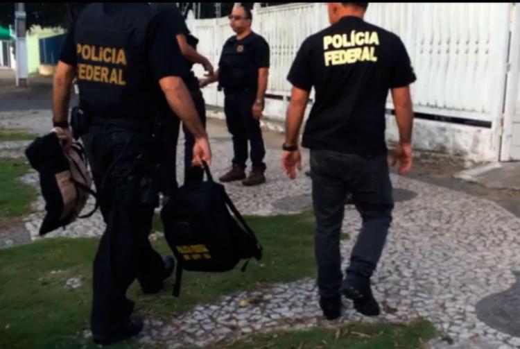 Prisão foi realizada por policiais federais na Região Metropolitana de Salvador - Foto: Divulgação   PF