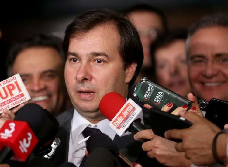 Maia pretende se encontrar também com presidente do Senado, Renan Calheiros - Foto: Agência Brasil