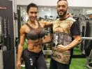 Belo e Gracyanne encenarão 'episódio da prisão de ventre' na TV - Foto: Reprodução | Instagram