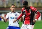Bahia sai na frente, mas cede empate para Joinville e segue fora do G-4 - Foto: Carlos Júnior | Futura Press | Estadão Conteúdo