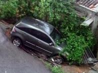 Erosão coloca motoristas em risco na Federação - Foto: Divulgação l Associação de Moradores