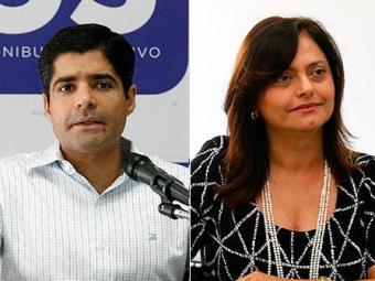 ACM Neto e Alice Portugal são candidatos à prefeitura - Foto: Agência A TARDE