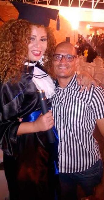 O apoio do marido Anderson Barbosa foi fundamental para Ariane - Foto: Arquivo pessoal