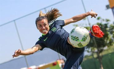 Pela primeira vez uma brasileira é selecionada - Foto: Ricardo Stuckert l CBF