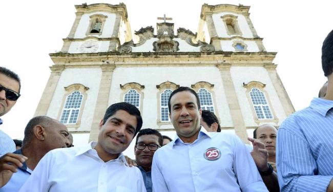 ACM Neto na Igreja do Bonfim - Foto: Valter Pontes | Divulgação