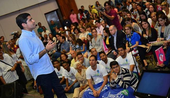 Prefeito apresentou plano de governo para auditório lotado no Hotel Fiesta - Foto: Divulgação