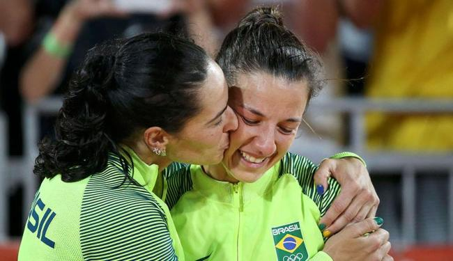 Ágatha disse que rompimento foi escolha da parceira, que já tem uma nova dupla - Foto: Tony Gentile | Agência Reuters