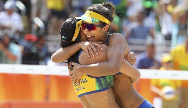 O Brasil é o país com mais medalhas no vôlei de praia nos Jogos Olímpicos - Foto: Kai Pfaffenbach   Ag. Reuters