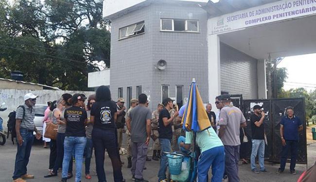 Mobilização de sindicalistas em Mata Escura nesta quarta-feira. Para gestor, adesão é