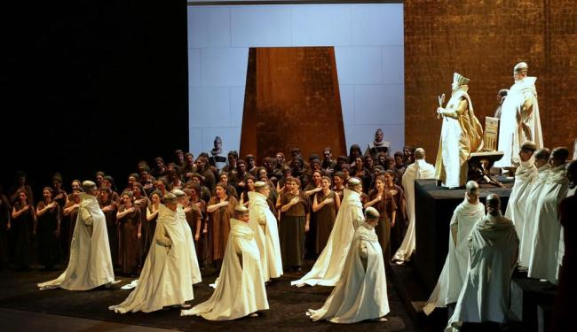 Aida, dirigido por Peter Stein, será exibida na Walter da Silveira - Foto: Divulgação