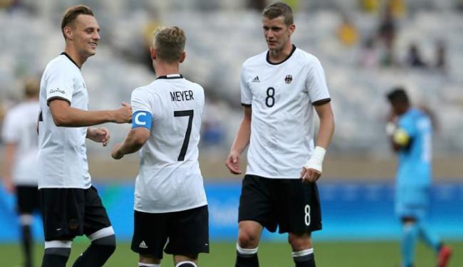 Os alemães golearam no mesmo palco do 7 a 1, o Mineirão - Foto: Mariana Bazo   Reuters