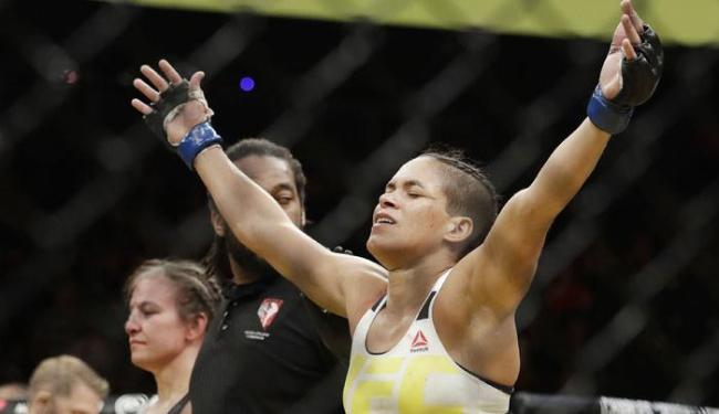 Amanda Nunes garante estar totalmente preparada para manter legado no UFC - Foto: John Locher   AP Photo