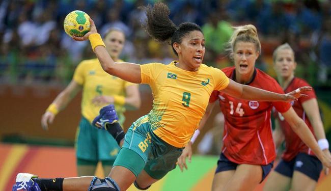 Ana Paula Belo foi destaque no jogo - Foto: Marko Djurica | Agência Reuters