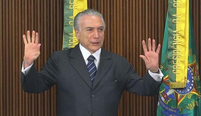 Temer recebeu a notificação nesta quinta-feira, 18 - Foto: Antônio Cruz | Agência Brasil