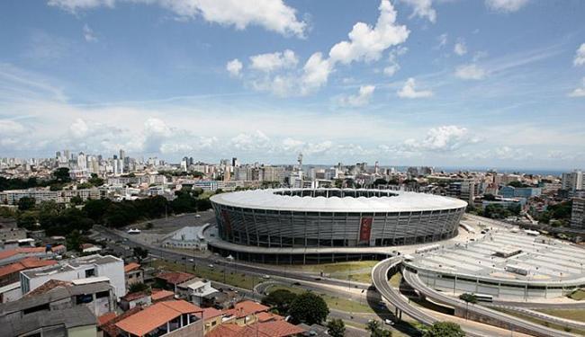 Arena Fonte Nova será a nova casa do Festival de Verão - Foto: Mila Cordeiro l Ag. A TARDE l 11.3.2014