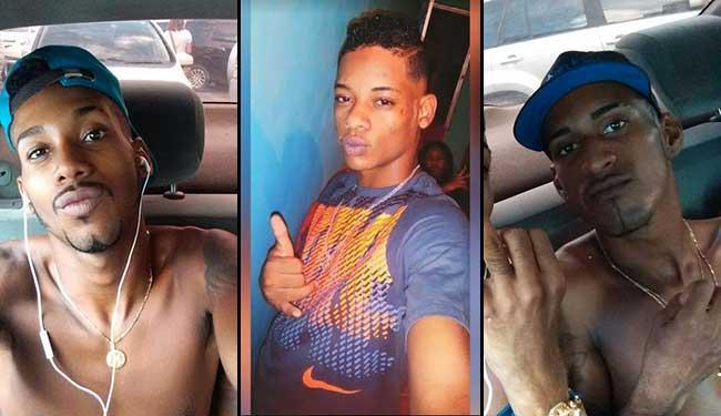Érick da Silva, Bruno e o terceiro suspeito são procurados pela polícia - Foto: Ascom | Polícia Civil